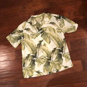 Tommy bahama silk shirt